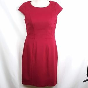 WHBM Tailored Red Dress Size 10